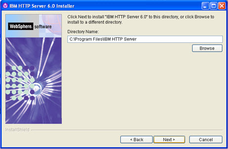 Websphere ND Install: Install IBM HTTP Server   EveryDay Practical